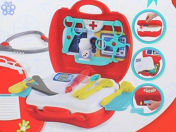 Trusa portabila de doctor 20 accesorii