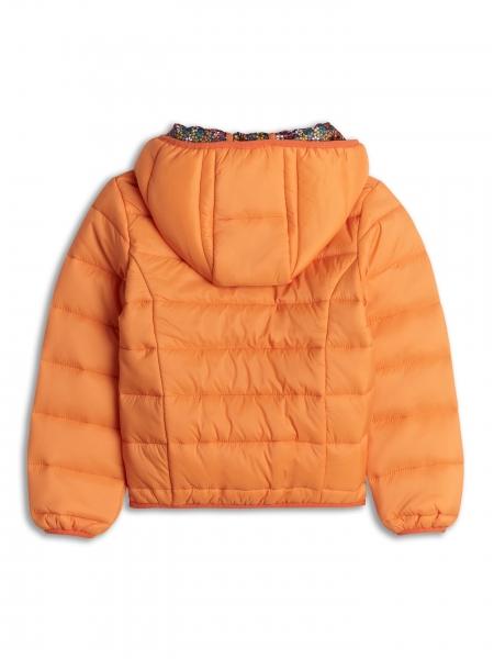 Jacheta usoara portocalie 2-8 ani fetite primavara/toamna 1