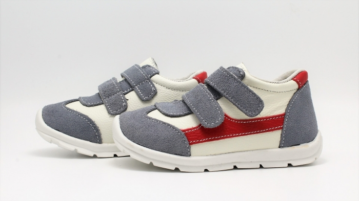 Pantofi sport din piele Happy Bee 19-24 baietei 4