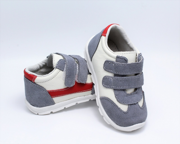 Pantofi sport din piele Happy Bee 19-24 baietei 6