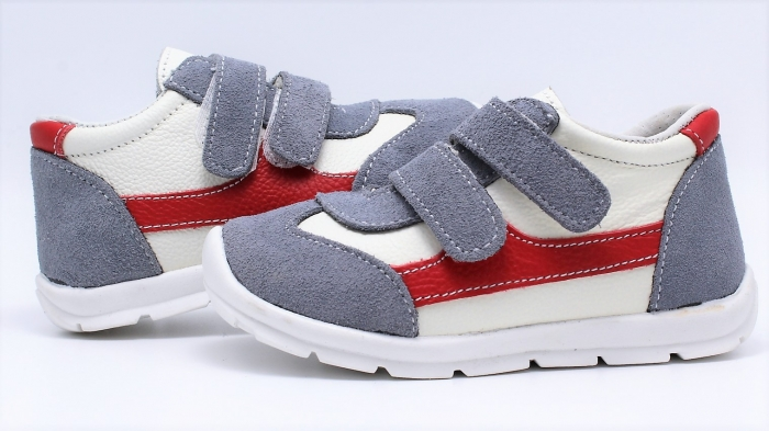 Pantofi sport din piele Happy Bee 19-24 baietei 5