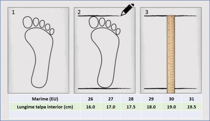 Sandale baieti din piele, HappyBee Denim Blue/Red, marimi 26-31 EU 8