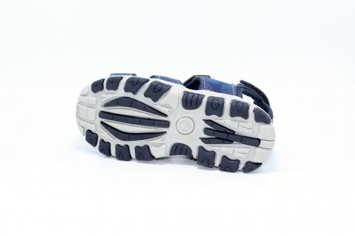 Sandale piele Navy 3