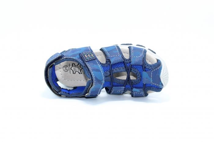 Sandale piele Navy 4