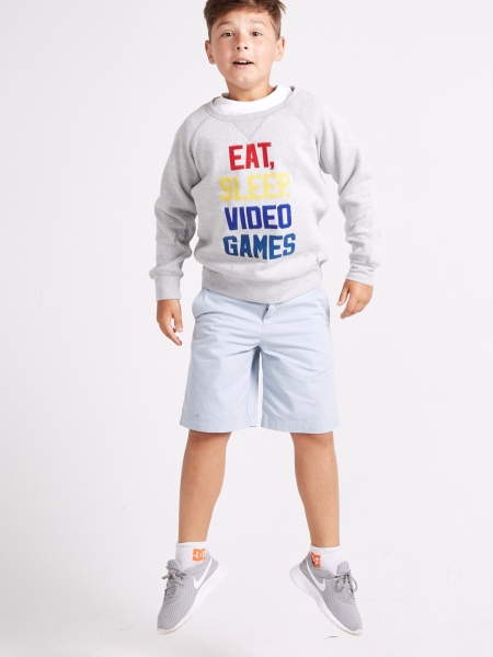 Eat sleep video games!