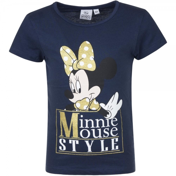 Tricou Minnie 3-8 ani navy